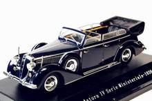 1/43 Starline Lancia Astura Ministeriale IV Serie 1938 Blue Diecast model(China)