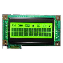 1602 LCD with backlight input 3.3-5v for Master chip ks0074,