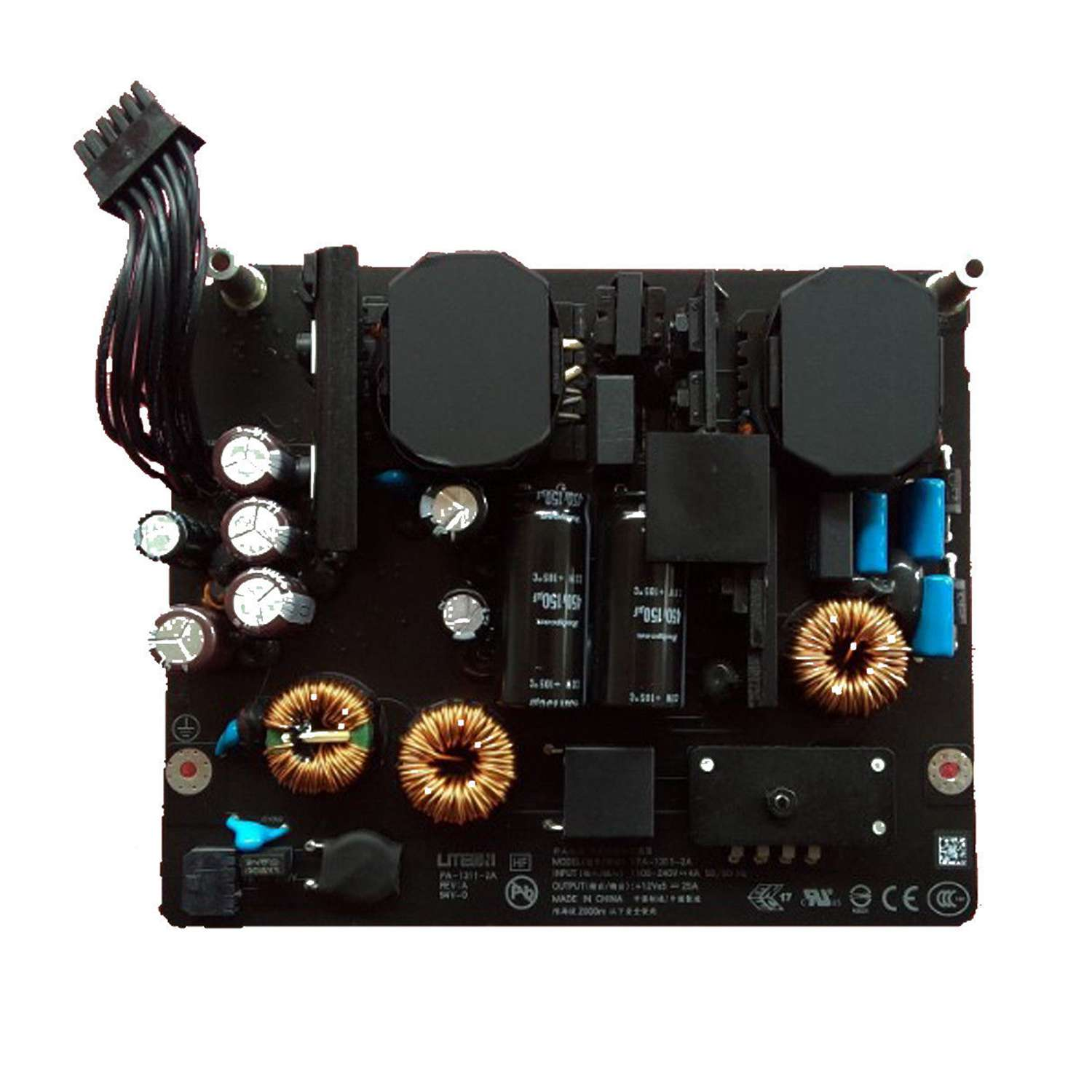Oem <font><b>Power</b></font> Board For Apple <font><b>Imac</b></font> 27 inch <font><b>A1419</b></font> <font><b>Power</b></font> <font><b>Supply</b></font> Late 2012 To 2014 Pa-1311-2A1 Adp-300A image