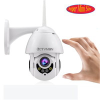 CTVMAN WIFI Camera Outdoor PTZ IP Camera 1080p Speed Dome CCTV Security Cameras IP Camera WIFI Exterior 2MP IR Home Surveilance