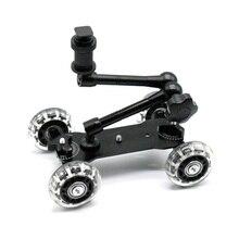 Мобильный роликовый скользящий стабилизатор слайдер фигуриста 11 дюймов Артикуляционная волшебная ручка камера рельс стенд фотография камера