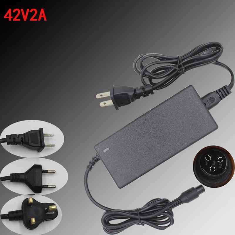 42V 2A Power Adapter Electric Scooter Two Wheel Balance Car Adapter For 36V Lithium Battery Safe Charger Scooter Parts Accessory