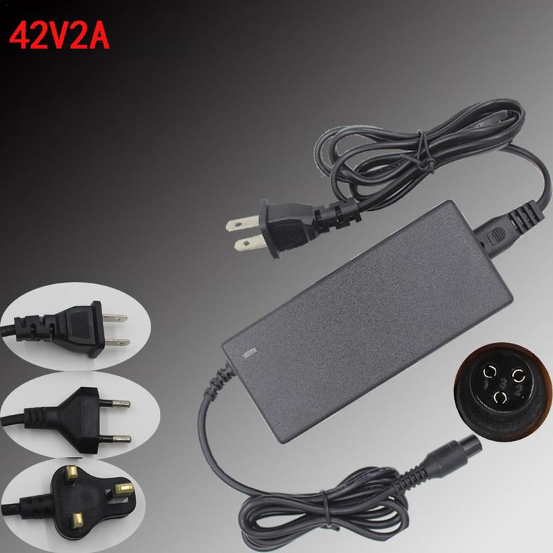Power Adapter Lithium Battery Charger For Electric Balance Scooter Replacement