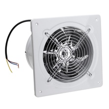 CNIM Hot  20W 220V 4 Inch High Speed Exhaust Fan Toilet Kitchen Bathroom Hanging Wall Window Glass Small Ventilator Extractor