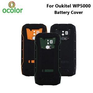 Image 1 - Ocolor dla Oukitel WP5000 pokrywa baterii twarda Bateria ochronna tylna obudowa zamiennik dla Oukitel WP5000 akcesoria do telefonu