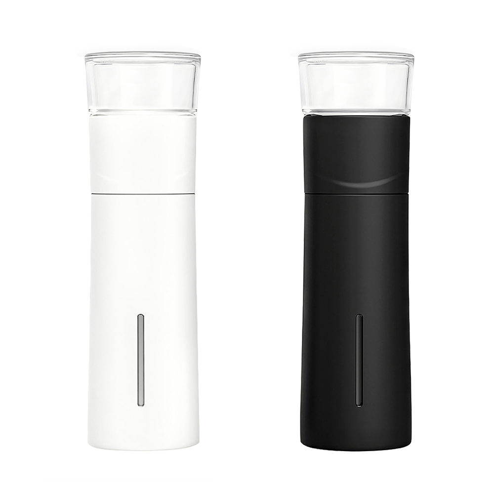 Image 5 - Xiaomi PINZTEA 300ml Portable Water Mug Outdoor Travel Mugs Thermal Cup Tea Infuser Bottle Container Warm Keeping Cup Mijia-in Electric Kettles from Home Appliances