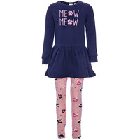 NAME IT Children's Sets 8546778 clothing for girls set dress winter clothes girl kids wear
