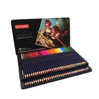 NON 12/24/36/48/72 Acquerello Matite Premium Soft Core lapis de cor Professionale Solubile In matita di colore per la Scuola D'arte di Fornitori di Beni