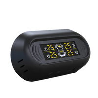 Automotive Tire Pressure Monitoring System Wireless Solar Sensor Tire Alarm System