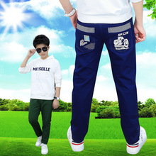 Childrens wear casual kids trousers 2019 spring and autumn cotton single pants boys clothes