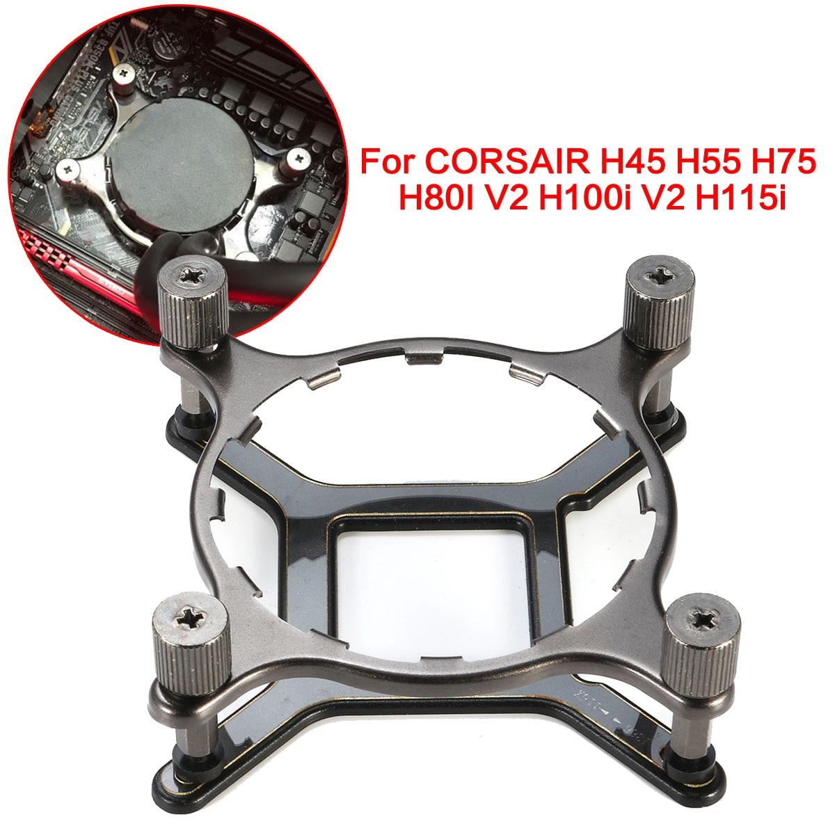 115x 1366 CPU Mounting Hardware For CORSAIR H45 H55 H75 H80I V2 H100i V2 H115i