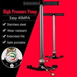 Image 1 - Compresseur haute pression, 30mpa, 4500psi, 300 bars, manuel, pour pompe à Air, pour véhicule, moto, vélo, 3 étages