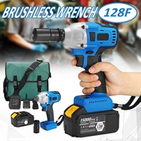 220V 350Nm Electric Drill Cordless Electric Screwdriver Wireless Impact Wrench Rechargeable 1/2 Batteries Home DIY Power Tools