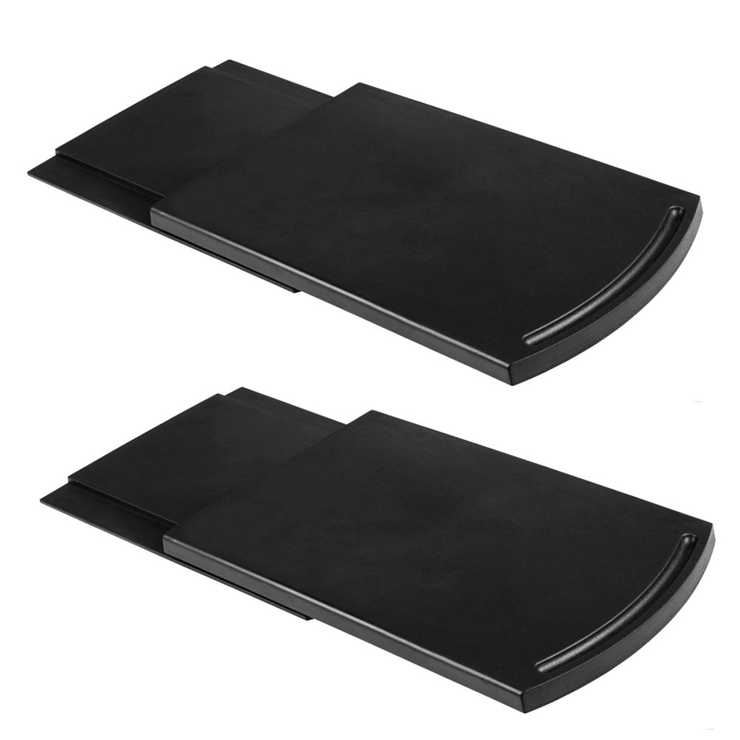 Home Appliance Parts Kitchen Caddy Sliding Coffee Tray Mat,12 Inch Under Cabinet Appliance Coffee Maker Toaster Countertop Storage Moving Slider Wi Buy One Get One Free