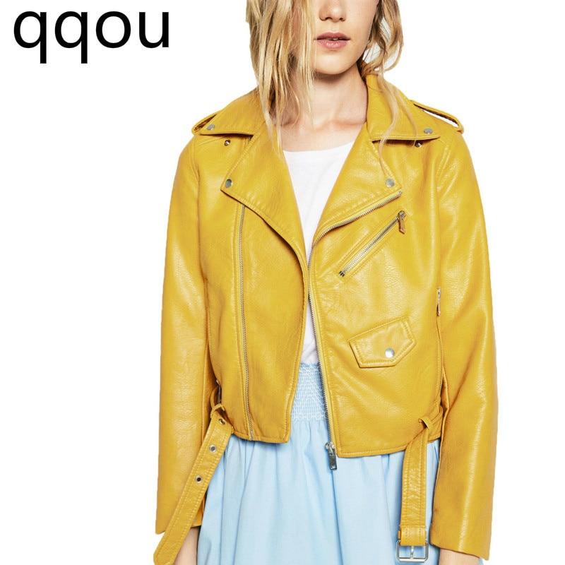 Automne Cuir bourgogne 2018 baby En rose De rouge Blue Veste Nouvelle Couleur Femmes D'hiver jaune La Et marron Noir Courte Mode Vêtements Manteau Europe Multi txXwrptSq