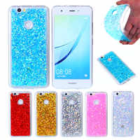 "Huawei Nova CAN-L11 Colored Shining Case Soft Silicone TPU Shiny Glitter Back Cover Case for Huawei Nova 5.0"" Soft Shell Cover"