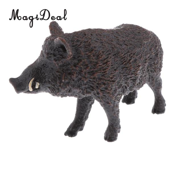 Realistic PVC Animal Wild Model Figurine Action Figures Play Set Kids Children Educational Toy Home Table Ornament