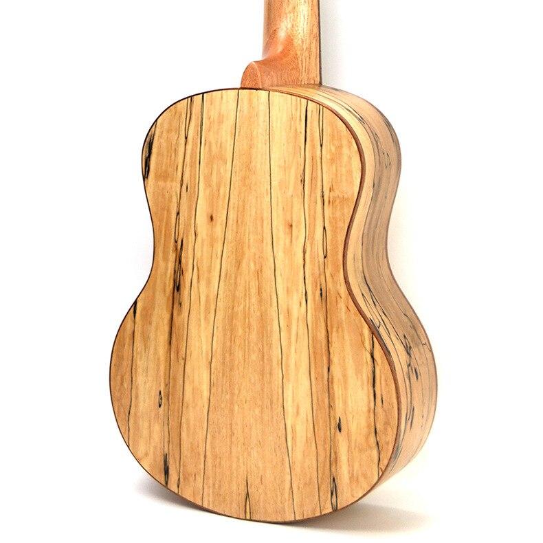 Ukulélé 23 pouces acoustique électrique Concert ténor Deadwood Mini guitare 4 cordes Ukelele Guitarra Uke Pick Up - 4