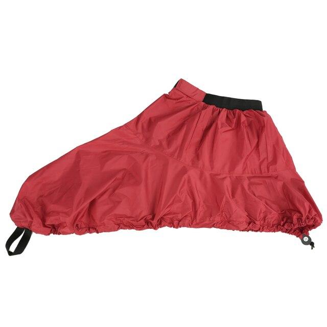 Universal ajustable deporte impermeable de Nylon Kayak de falda cubierta Sprayskirt cubierta