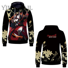 2019 Anime Movie Azur Lane Unisex Pullover Sweatshirt Hoodies Pokemon PiKachu Cosplay Harajuku Hoodie Sweatshirts Tracksuits fans wear 2019 anime movie pokemon unisex pullover sweatshirt hoodies pikachu cosplay harajuku hoodie sweatshirts tracksuits