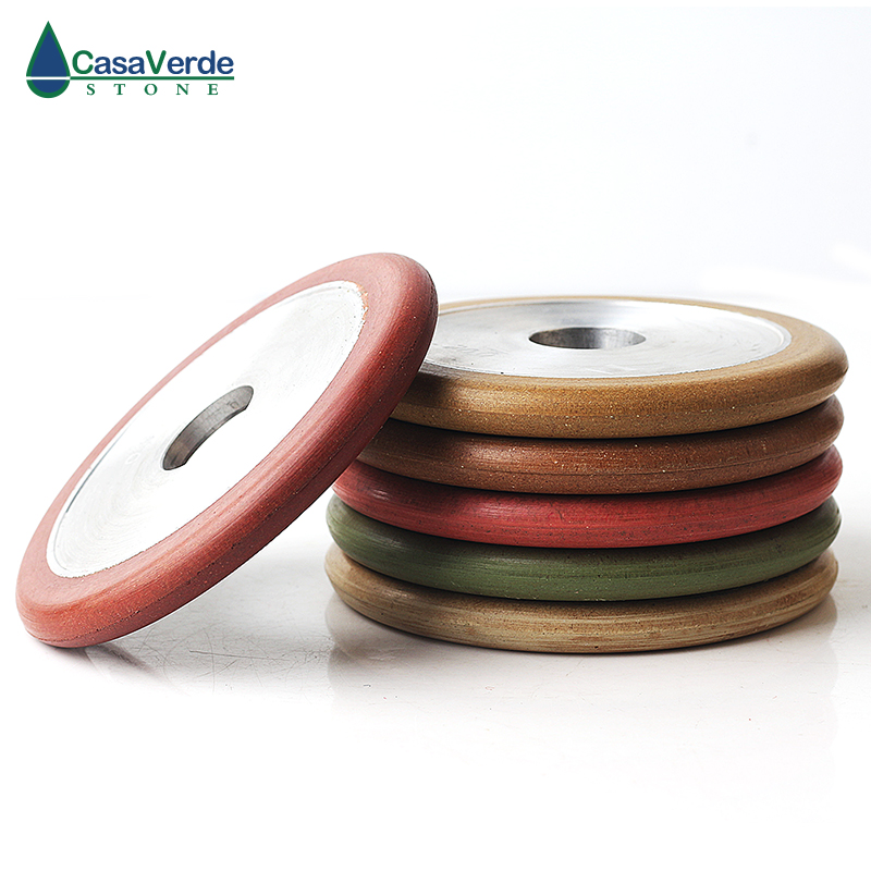 6pcs set DC RTGW 4 inch resin wet use grooving and grinding wheels 100mm thickness for