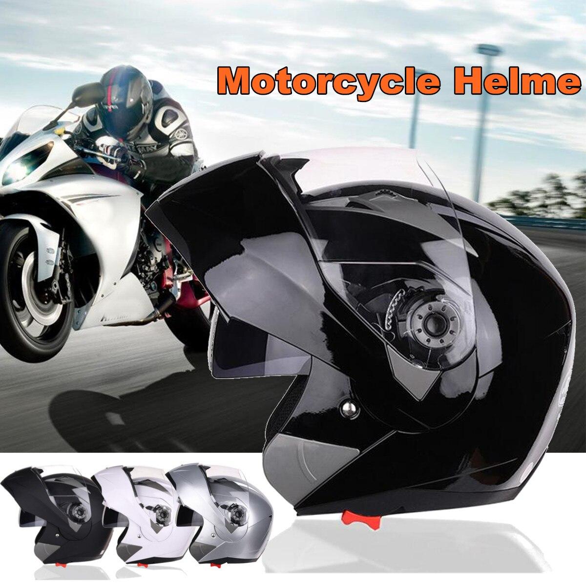 SV casque de moto intégral modulaire Flip Up avant moto Crash casque pare-soleil engrenages de protection accessoires 4 couleurs