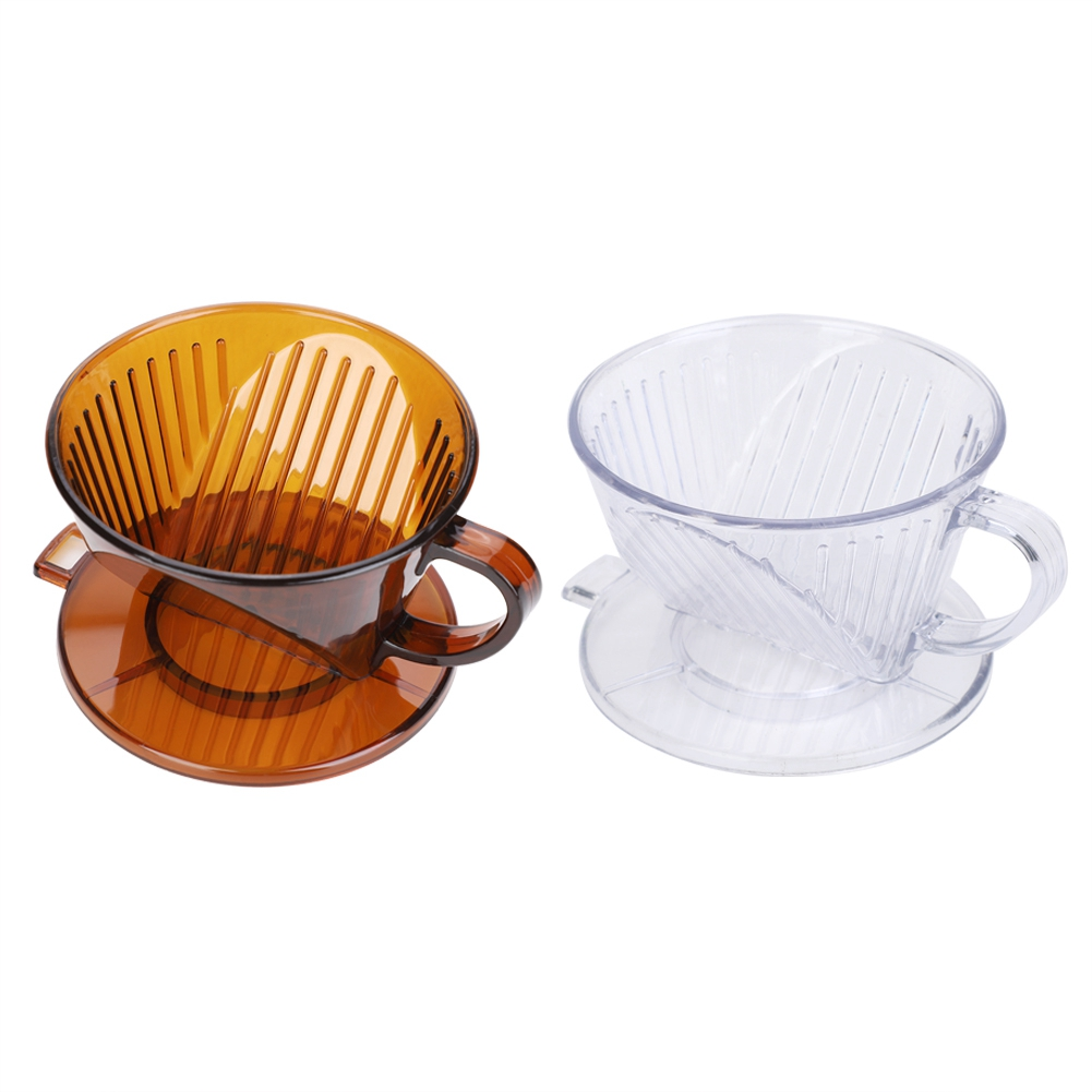 3rd Generation Dolce Gusto Coffee Cone Shape Coffee Maker Filter Cup Dripper Reusable Pour Over Serving Mug Tea Baskets