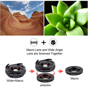 Image 5 - Apexel Pro Optic Smartphone Kamera Objektiv Kit 4K Hd 0.6X Weitwinkel + 10X Makro 2 In 1 Objektiv für Iphone Xiaomi Samsung Keine Dunkle Circ