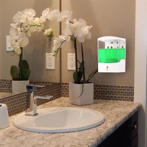 Image 2 - Dispensador de sabão sensor ir automático, dispensador de sabão para montagem na parede com sensor ir, sem toque, 600/700/1000ml casa líquida para cozinha banheiro