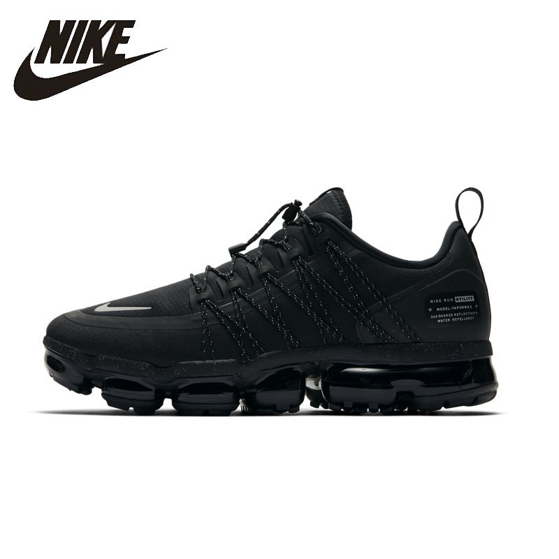 NIKE Air VaporMax Run Utility Original Mens Running Shoes Mesh Breathable Stability Support Sports Sneakers For