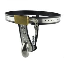 stainless steel T type male chastity belt Metal bdsm bondage cock cage anal plug erotic toys sex games adult sex toys for men sex tools for sale with anal plug type male chastity belt device cock cage sex toys bdsm bondage set adult game sextoys for men