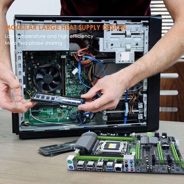 X79T Ddr3 Pc Desktops Motherboard Lga 2011 Cpu Computer 4 Channel Gaming Support M.2 E5-2680V2 I7 Sata 3.0 Usb 3.0 For Intel B 1