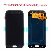 JPFix Super AMOLED ЖК-дисплей для Samsung Galaxy A5 a520f ЖК-дисплей Сенсорный экран планшета замена