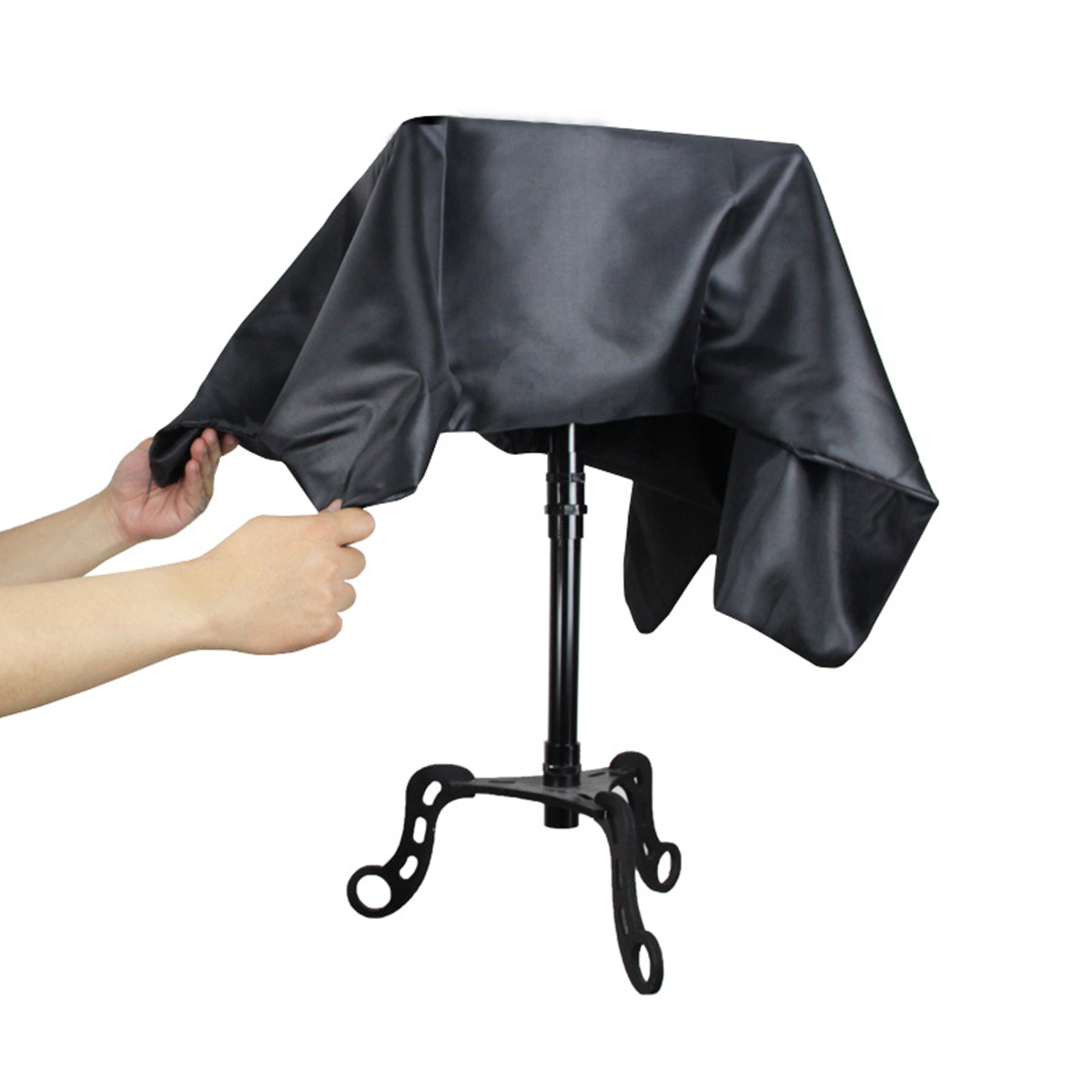 Black Floating Table Magician Levitation Trick Table Stage
