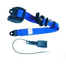 Correias de segurança retráteis da correia de segurança do colo do carro cintos de segurança para carros automóveis com curvatura rígida curvada cabo de advertência