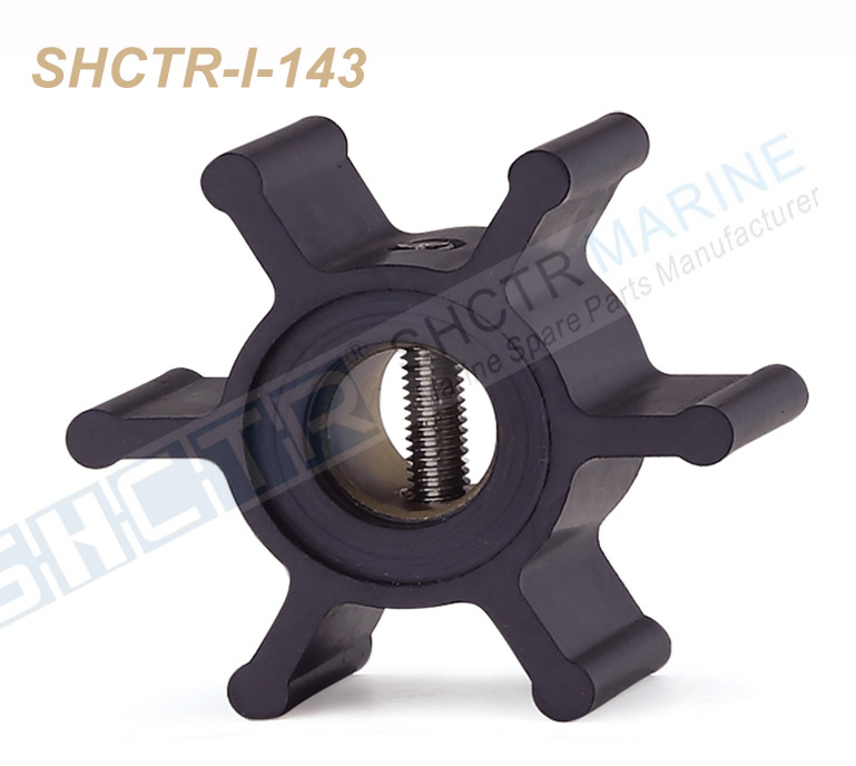 SHCTR Flexible Impeller For JABSCO 673-0001,JOHNSON 09-1026B,CEF 500116,JMP 7051,DJ Pump 09-108-0601,804696 875808-8 3593659