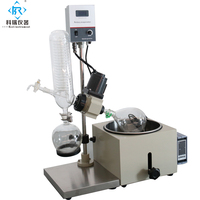 1L vakuum verdampfer/Labor verdampfer/Rotavap mit fabrik preis von Xingyang Kori Instrument Fabrik