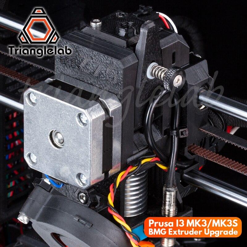 Prusa trianglelab I3 MK3/MK3S Atualizar Programa BMG extrusora de melhoria da Qualidade de impressão cabeça de extrusão printer 3D programa de atualização