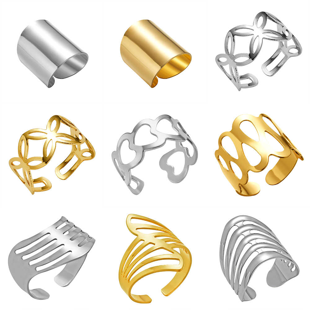 Hot Unique Ring Set Punk  Knuckle Rings for women Finger Ring 6 PCS Ring Set Best Selling