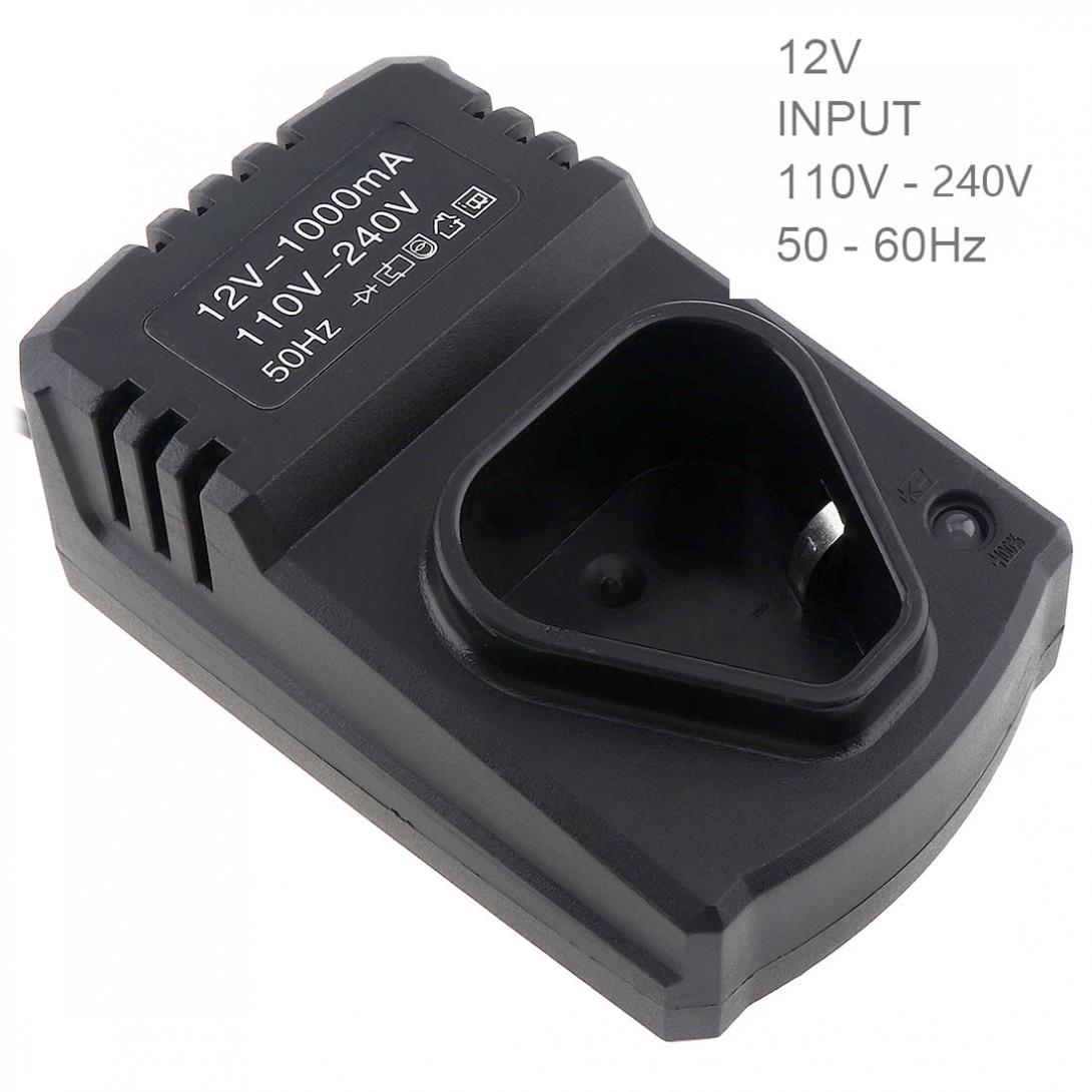 12V DC US/EU Portable Li-ion Rechargeable Charger Support 110-220V Power Source For Lithium Drill / Electrical Wrench