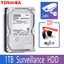 "TOSHIBA 1TB Video Surveillance Hard Drive Disk DVR NVR CCTV Monitor HDD HD Internal SATA III 6Gb/s 5700RPM 32MB 3.5"" harddisk"