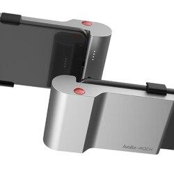 Rocha tipo c de carregamento rápido volta clipe banco potência 5000 mah com sem fio bluetooth tiro foto telefone titular para xiaomi para samsung