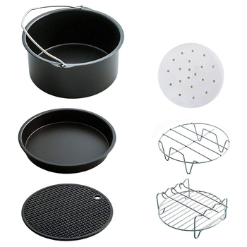 New Air Fryer Accessories Set for Phillips Cozyna and Gowise Fit all 3.7QT - 5.3QT 5.8QT
