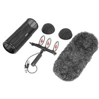Boya By Ws1000 Blimp Windshield & Suspension For Microphones Cage Handle Shock Absorber Wind Sweater Mic Cable
