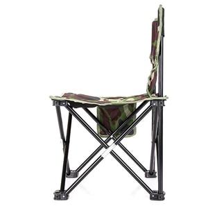 Image 3 - NHBR 미니 휴대용 접는 의자 접는 캠핑 의자 야외 접는 의자 바베큐 캠핑 낚시 여행 하이킹 정원