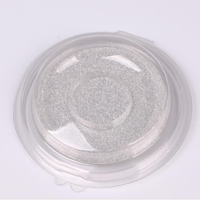 50/100 шт одноразовые пустые прозрачные круглые накладные ресницы для хранения, DIY элегантные поддельные ресницы блистерная упаковка, инструмент для макияжа глаз