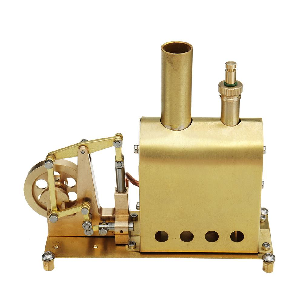 Mini Steam Boiler Steam Engine Model Toy Kids DIY Stirling Engine Retro Model Toy Children Educational Gift Collection New