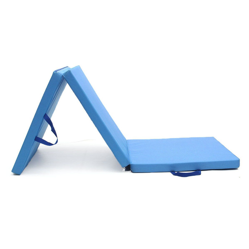 Folding Yoga Gymnastics Mat Exercise Floor Pad Cushion Mattress Dance Yoga Gymnastics Training Home Judo Pilates Gym
