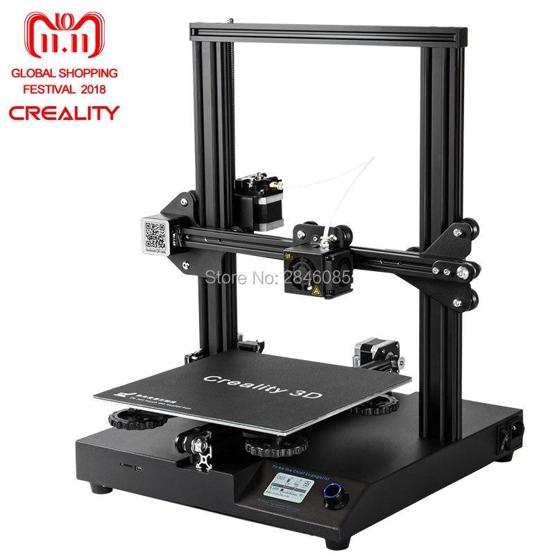 Nuovo Creality CR-20 3D Stampante Riprendere Stampa MK-10 Estrusore 220X220X250mm V2.1 Aggiornamento