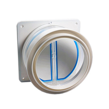 New Hot High quality Kitchen range hoods check valve anti odor control bathroom check valve back-pressure valve non-return fla цена